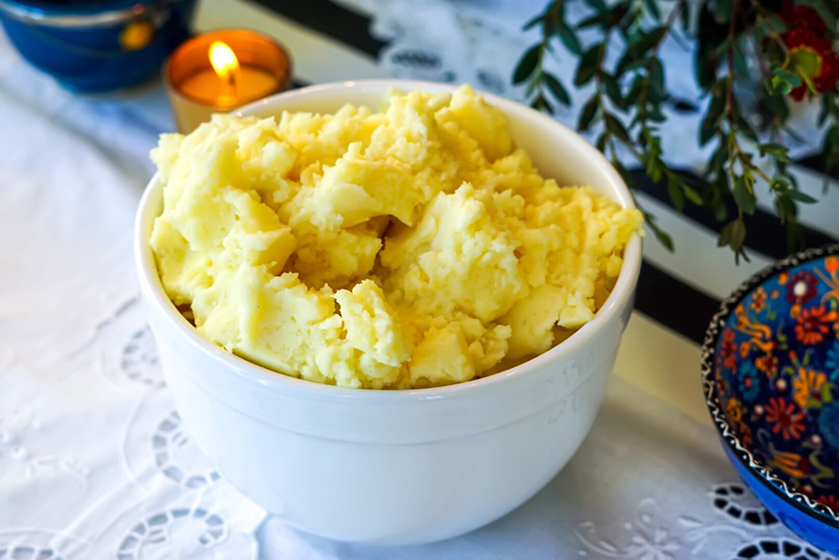 Real Urban BBQ Mashed Potatoes.