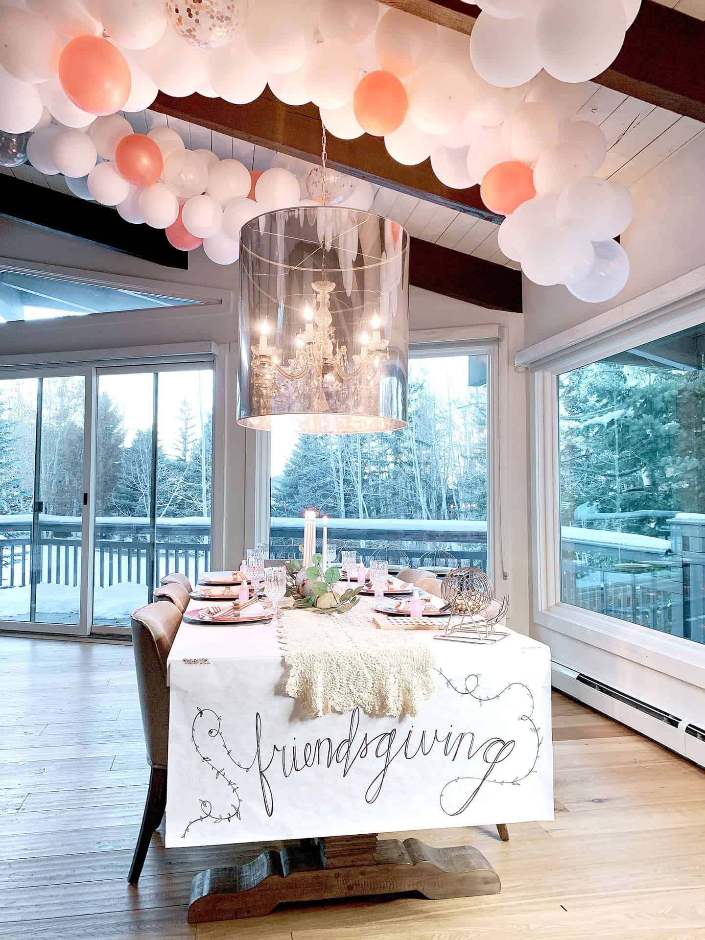 Friendsgiving DIY Tablescape